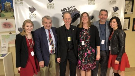 """Unintended"" team at Iowa Motion Picture Awards"
